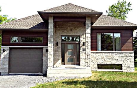Maison neuve en pierres
